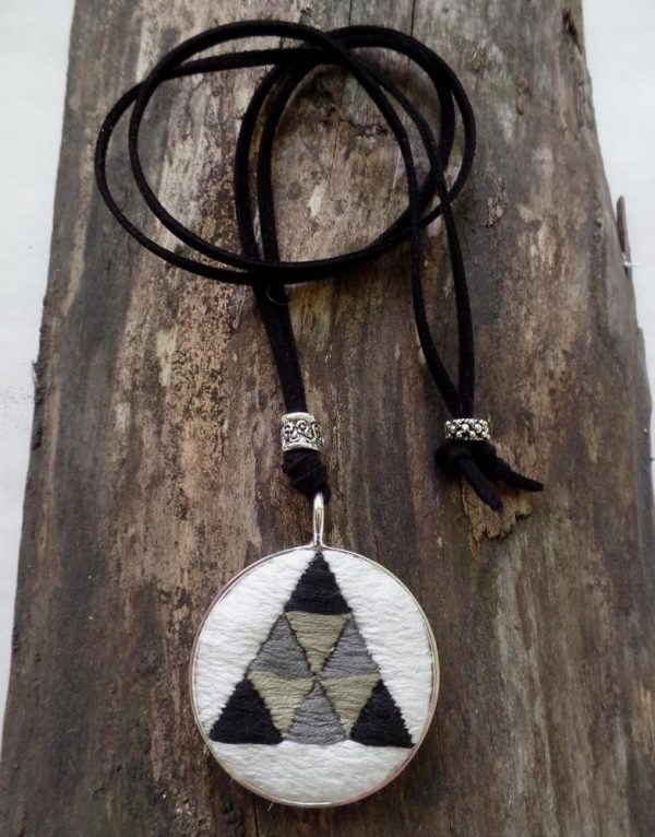 Triangle In A Circle Necklace