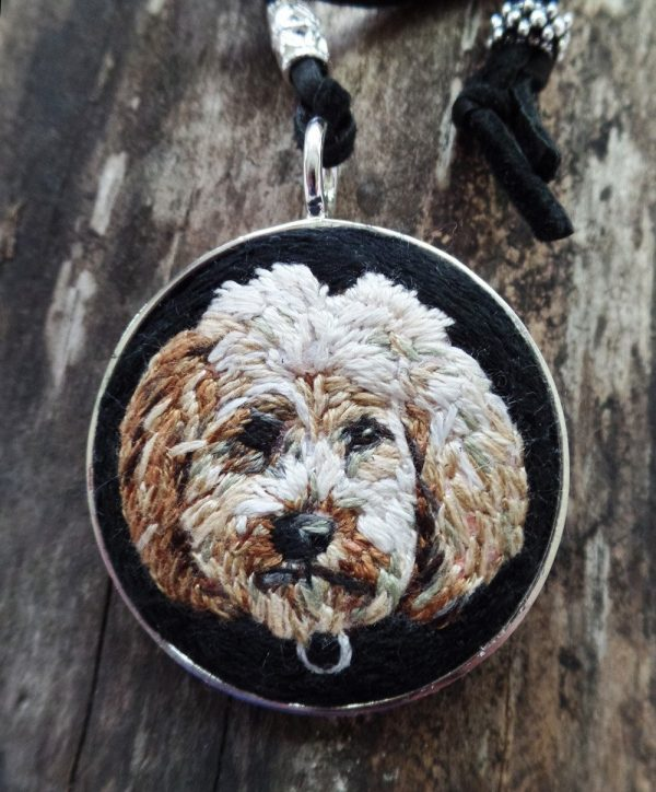 Custom Goldendoodle Necklace