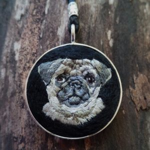 Pug Necklace