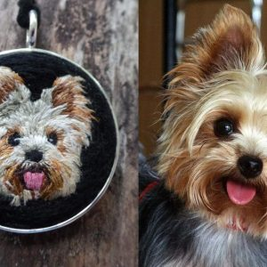 Yorkie Necklace