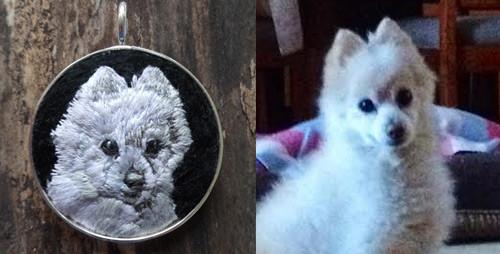 Custom Memorial Pet Necklace