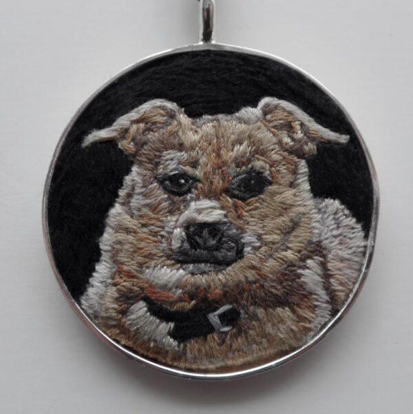 Custom Pet Portrait Necklace