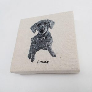 Custom Square Pet Portrait