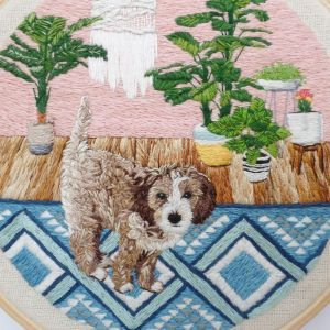 Custom Interiors Pet Art