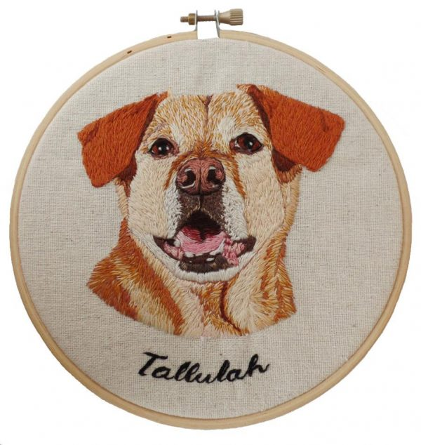 Custom Yellow Labrador Portrait