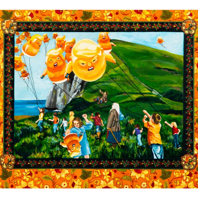 http://Kathy-Halper-Big-baby-balloons-trump-art
