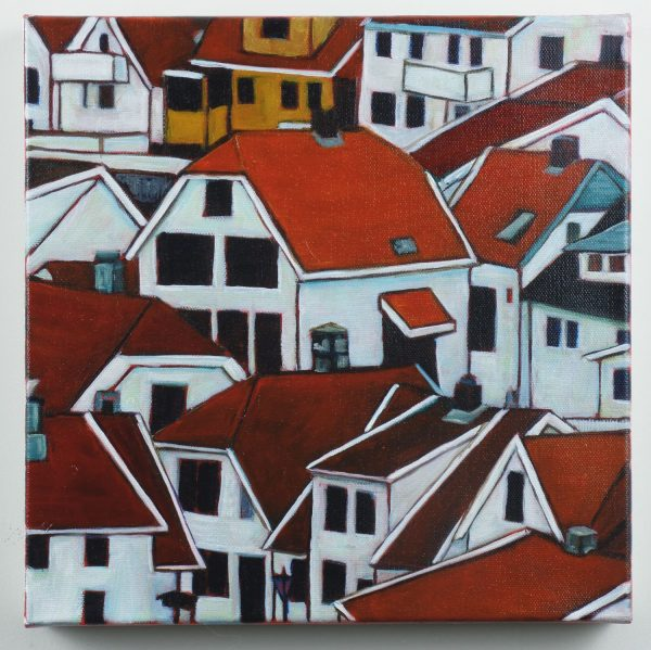 travel-art-bergen-norway-view-of-red-rooftops